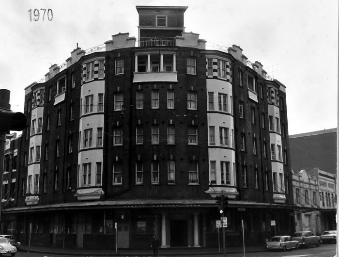 Burlington Hotel Sydney 1970 ANU