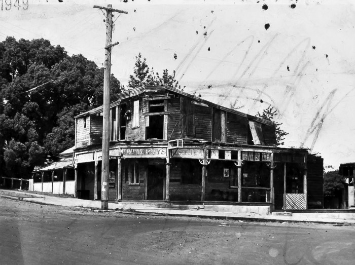Charcoal Inn Hotel Casino 1949 ANU