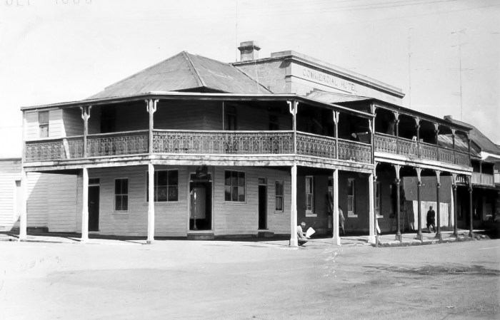 Commercial Hotel Morpeth 1955 ANU