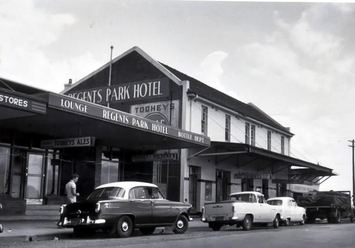 Regents Park Hotel 1960 ANU