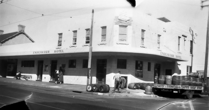 Endeavour Hotel former Waterworks Hote Botany 1954 ANU