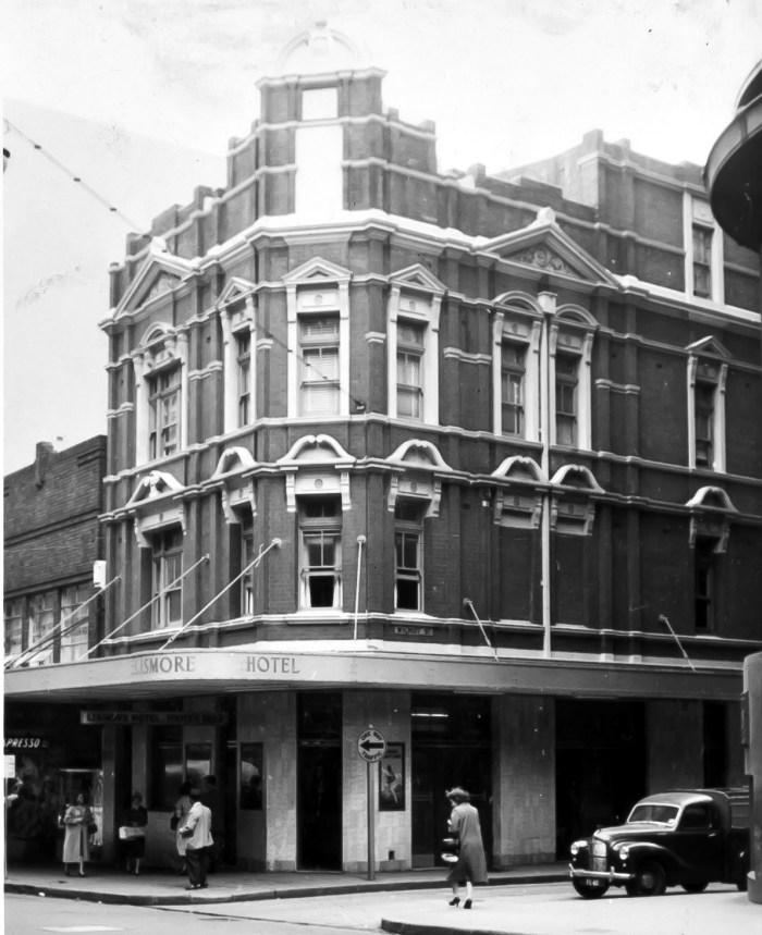 Lismore Hotel Pitt Street Sydney 1960 ANU