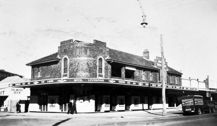 Liverpool Hotel 1939 ANU