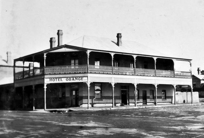 Orange Hotel Orange NSW former Steam Engine Hotel 1924 ANU