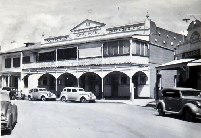 Royal Hotel Canowindra nsw 1949 anu