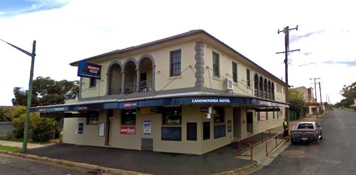 canowindra hotel canowindra nsw google streetview 2010