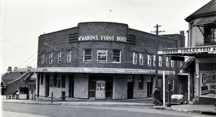 McMahon Point Hotel ANU