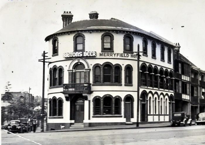 Merryfield Hotel woolloomooloo sydney 1949 anu