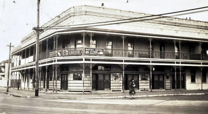 Royal Hotel Randwick 1937 anu