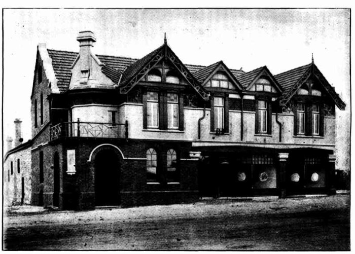 duke of cornwall hotel kalgoorlie wa 1900
