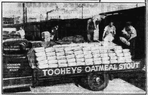 tooheys beer loading sydney 1948