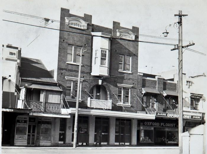 Canberra Hotel Paddington1949 ANU