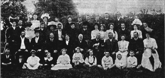 English Family Kogarah 1890