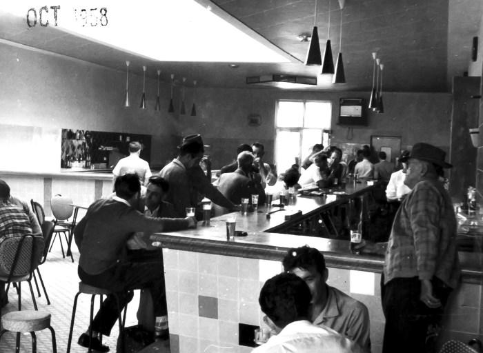 Lennox Hotel bar October 1958 ANU
