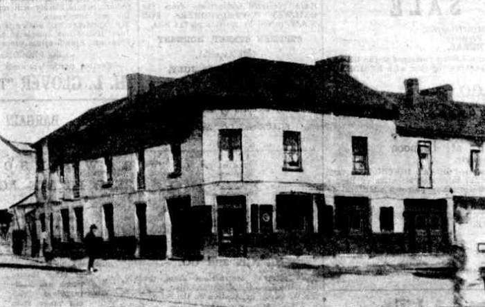 tattersalls hotel parramatta 1927 before demolition