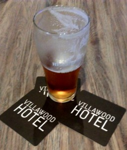 villawood hotel beer glass coaster