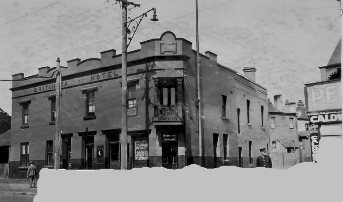 Britannia Hotel Redfern 1930 ANU