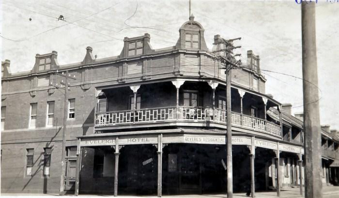 Eveleigh Hotel Redfern October 1930 ANU