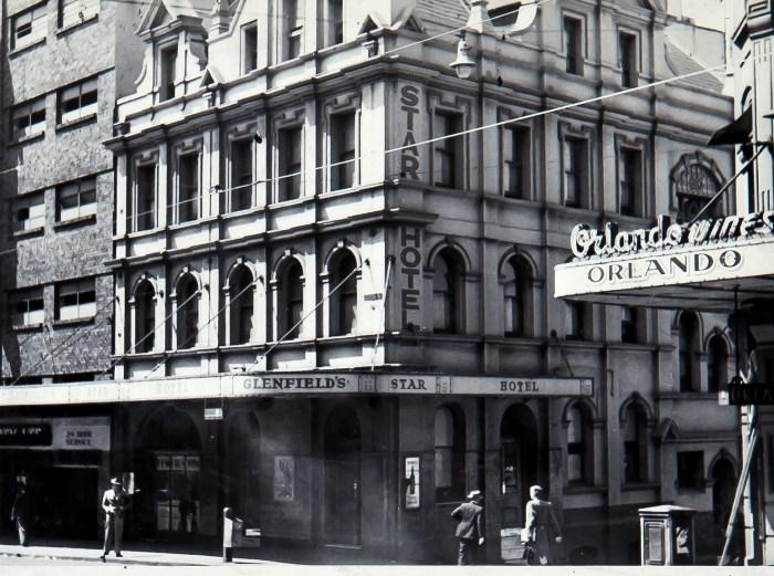 Star Hotel George Street Sydney 1949 anu