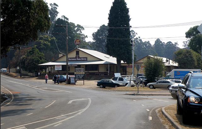 kinglake hotel 2009 bushfires