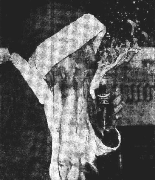 santa beer 1951