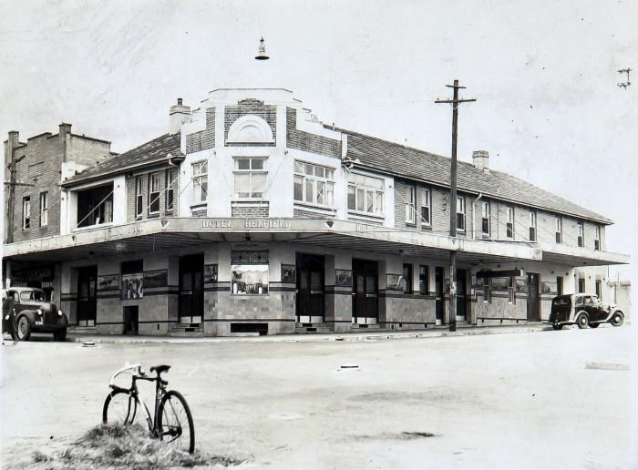 Belfield Hotel Belfield 1949 anu