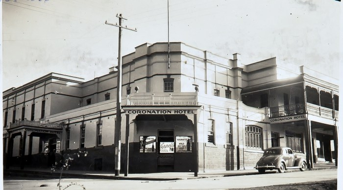 Coronation Hotel Portland 1939 anu