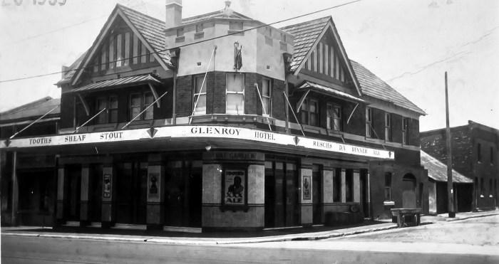 Glenroy Hotel Alexandria 1939 anu