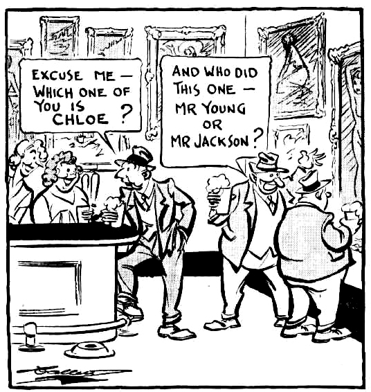 chloe young and jacksons cartoon 1939