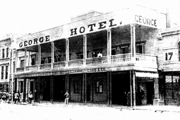 George Hotel Ballarat 1898