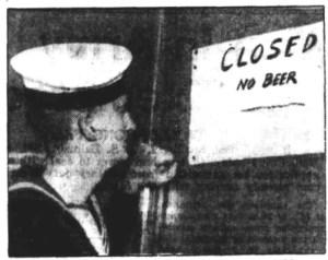 criterion hotel sydney closed no beer 1942