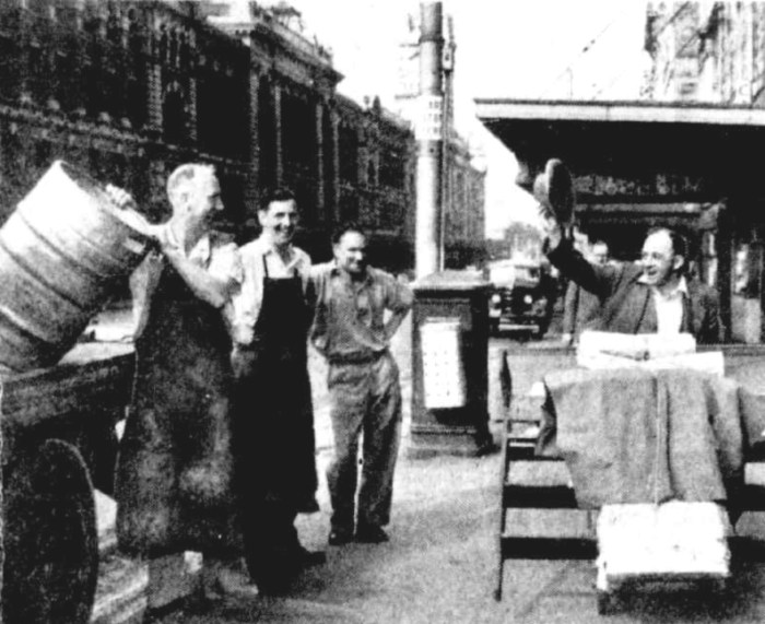melbourne beer strike 1952