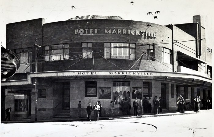 Marrickville Hotel 1949 anu