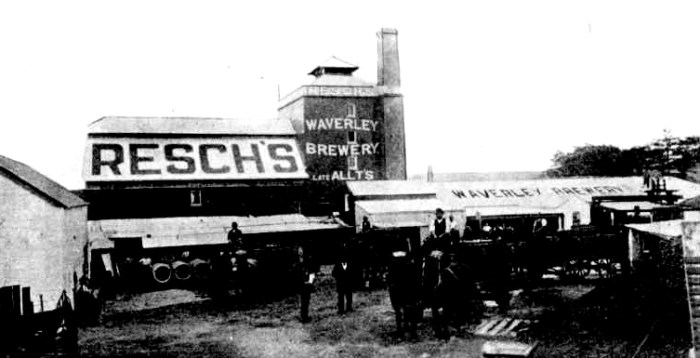 Reschs Waverley Brewery 1898
