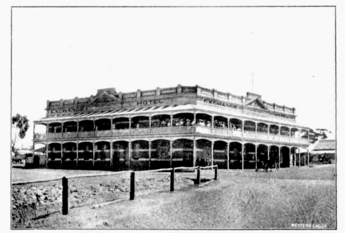 exchange hotel pingelly wa 1910