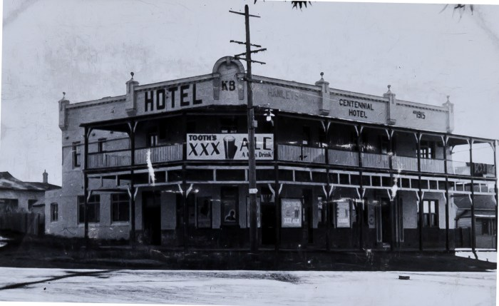 Centennial Hotel Helensburgh1949 anu