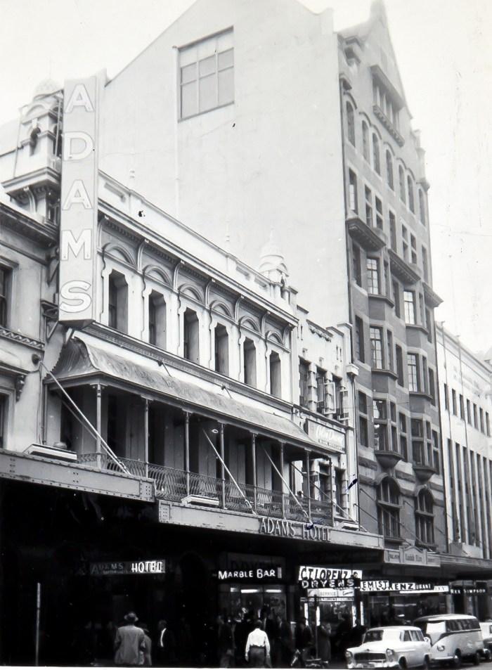 Adams Hotel Pitt St Sydney 1960 anu