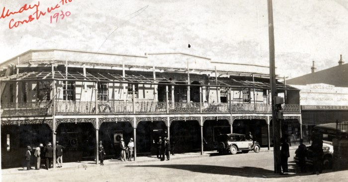 Commercial Hotel Wollongong 1930 ANU