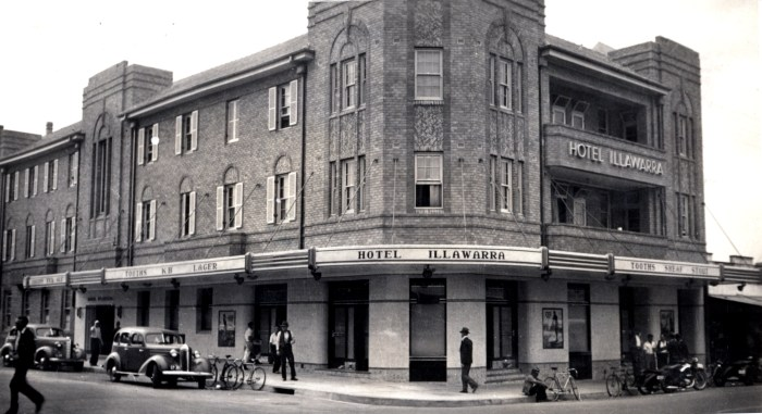 Illawarra Hotel Wollongong January 1939 ANU