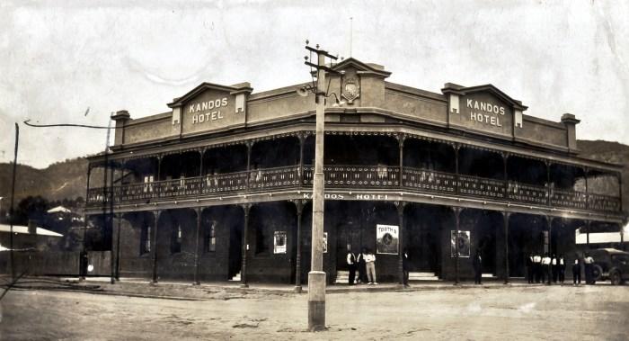 Kandos Hotel Kandos NSW 1924 ANU