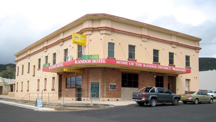 Kandos Hotel Kandos NSW 2019 TG 1