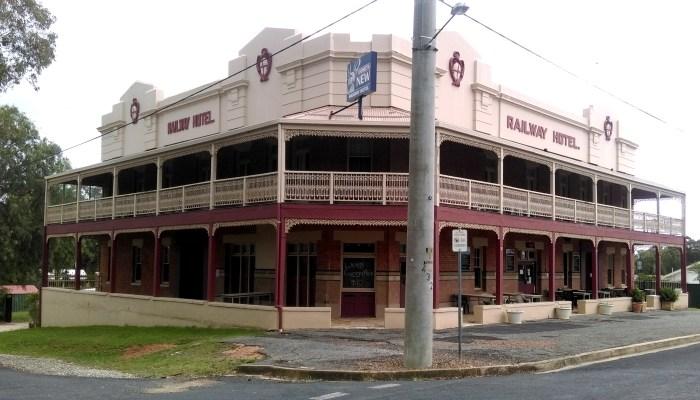 Railway Hotel Kandos NSW 2019 TG 1