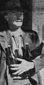 abercrombie Hotel beer bottles 1947 1