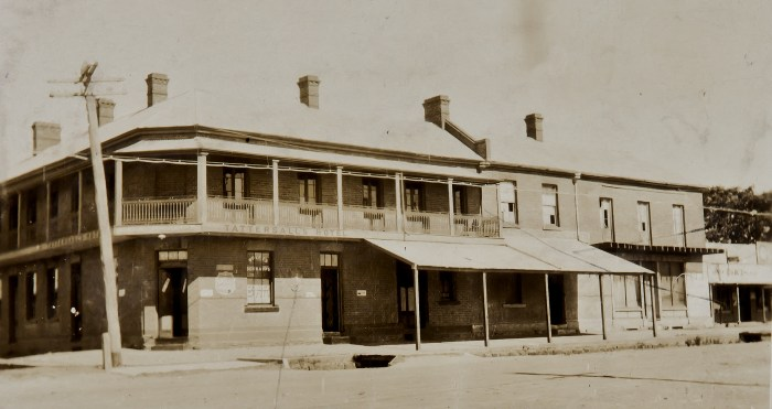 Tattersalls later Lawson Park Hotel Mudgee 1925 ANU
