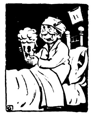 hospital beer 1929