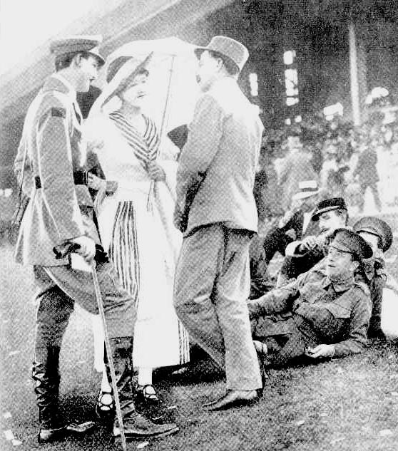 randwick races 1918 sydney mail