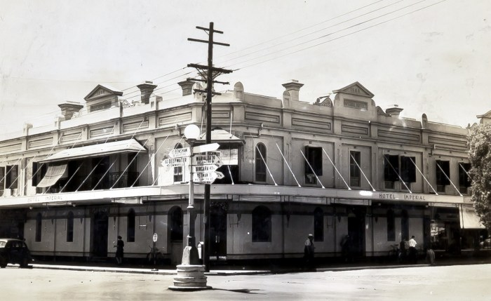 Imperial Hotel Inverell NSW 1949 ANU