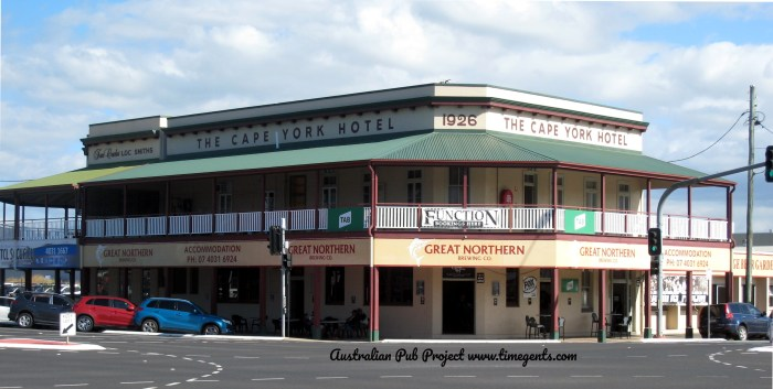 Cape York Hotel Cairns Qld 1 TG W