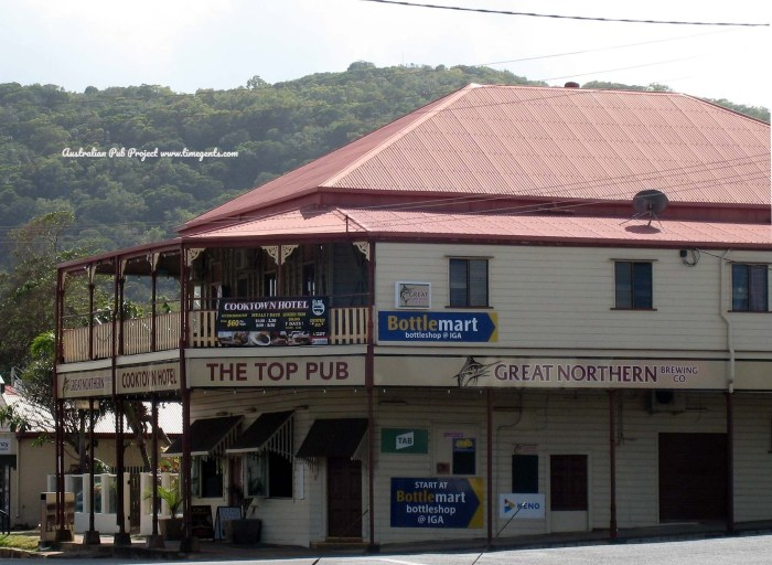 Cooktown Hotel Cooktown Qld 3 TG W