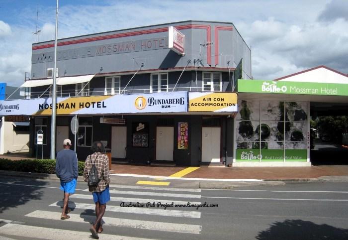 Mossman Hotel Mossman Qld crossing TG W